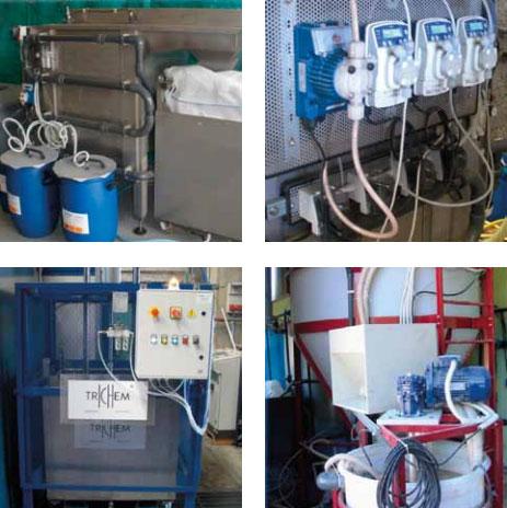 Nel trattamento delle acque reflue Trichem ha studiato soluzioni per impianti atti a sfruttare al meglio le caratteristiche dei nostri prodotti.